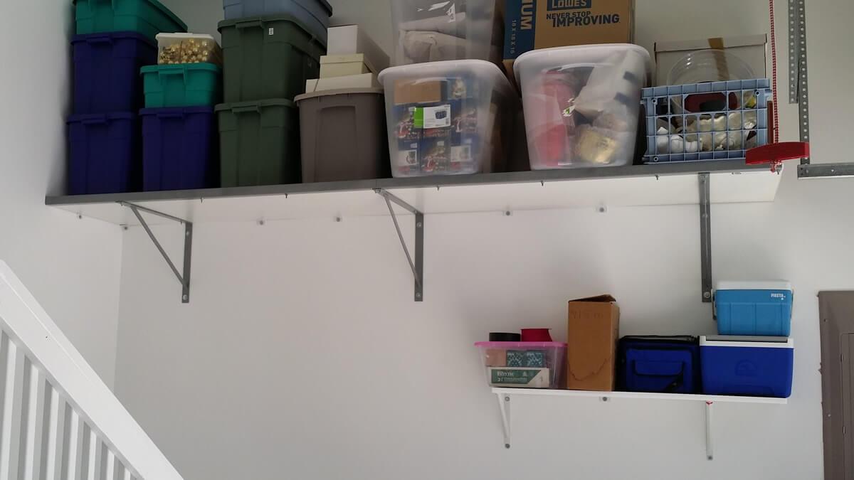 Garage Shelving Cary Nc Shelving Cabinets Overhead