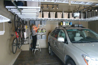 Superbe Garage Ceiling Racks. Overhead Garage Storage