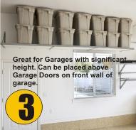 Garage Shelving Cary NC Cabinets Overhead Storage