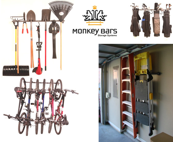 monkey bars garage storage cary, nc
