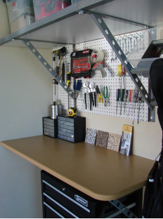 garage work space